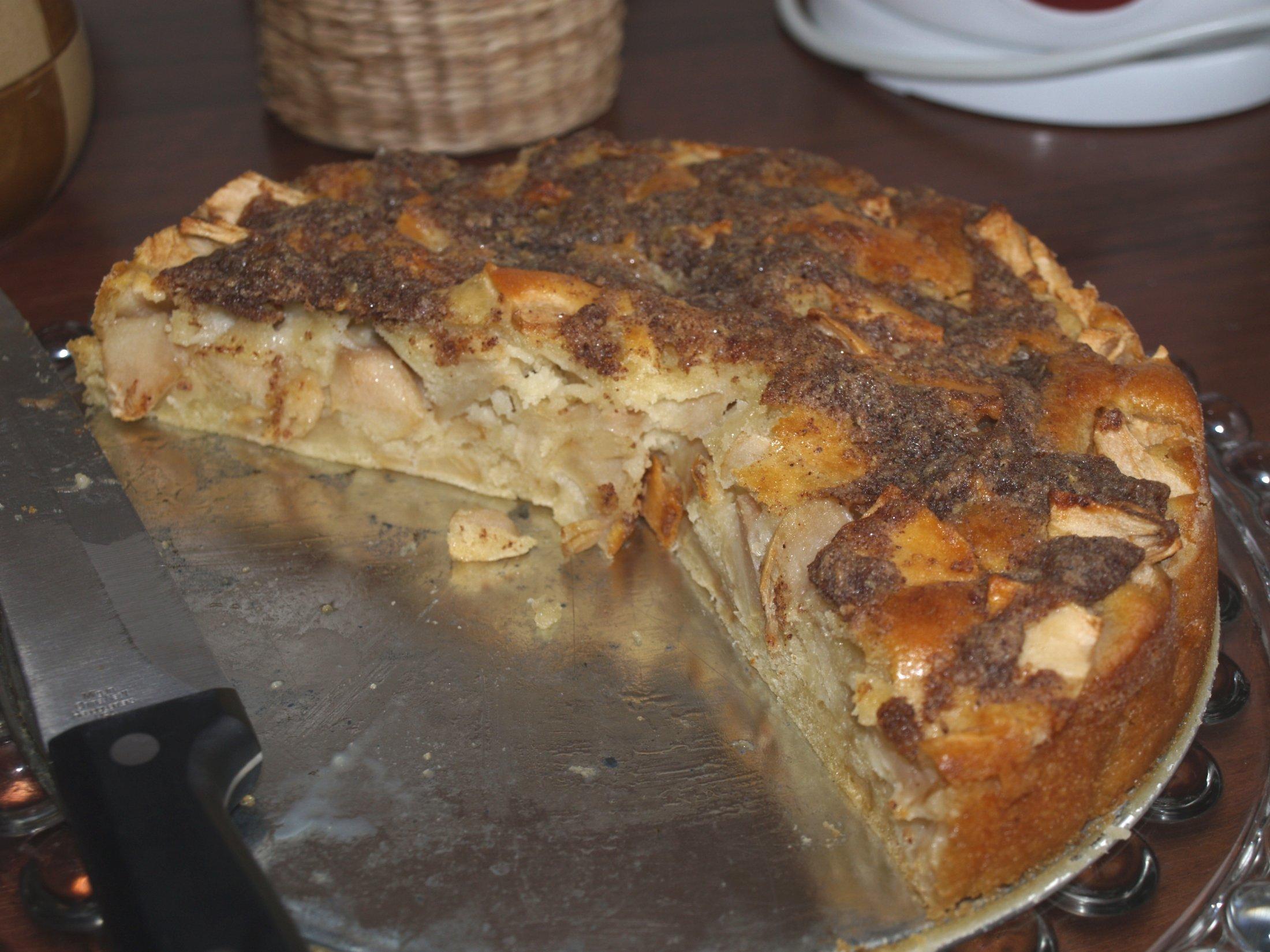 Fotografie receptu: Francouzský hruškový koláč