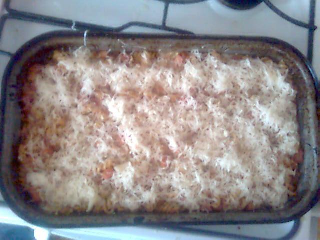Fotografie receptu: Zapečené těstoviny