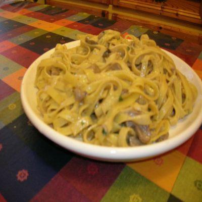 Recept Pasta al sugo con funghi - Pasta al sugo con funghi