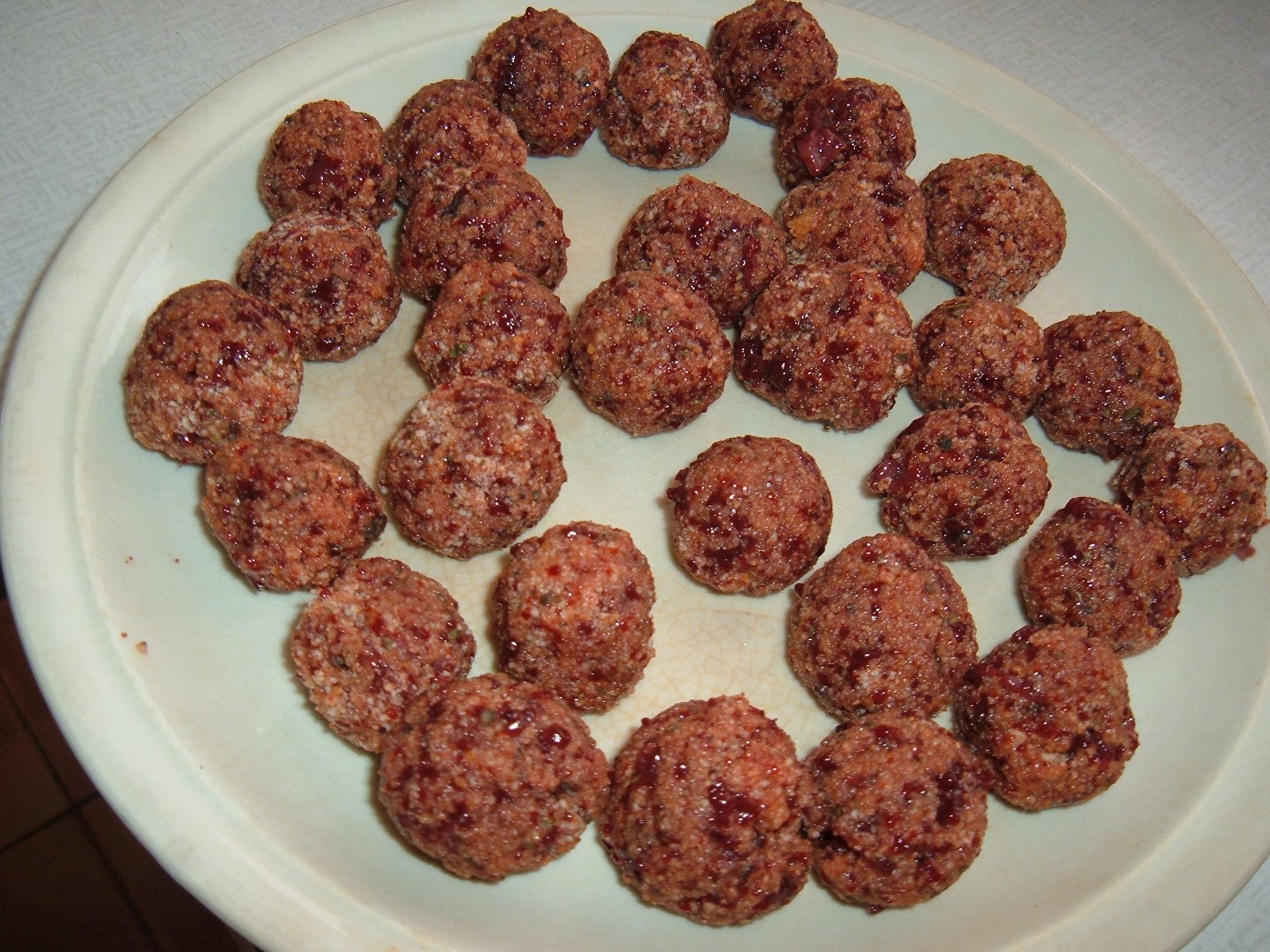 Recept Játrové knedlíčky - Nachystané jen je dát do polévky.