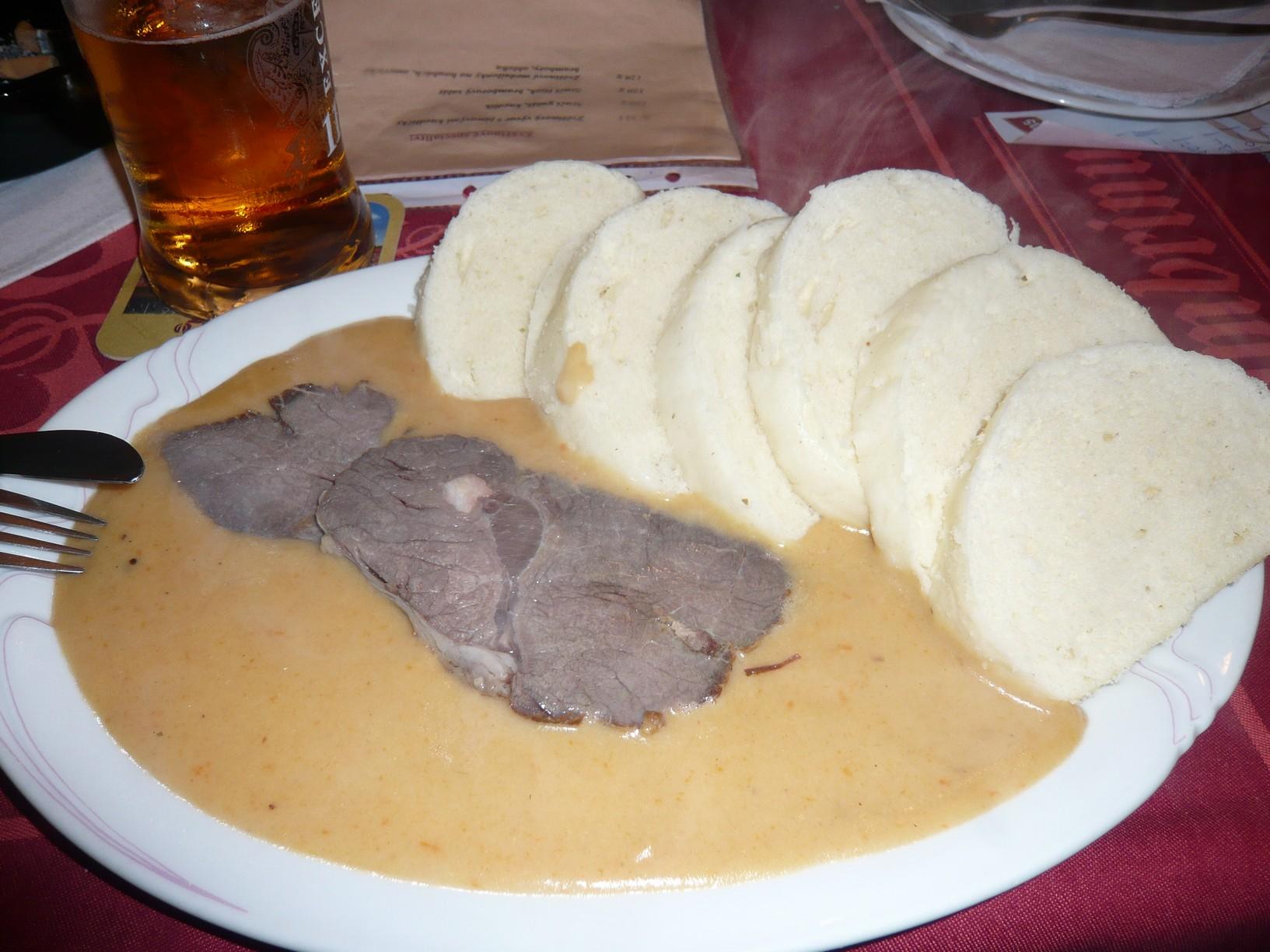 Fotografie receptu: Svíčková na smetaně