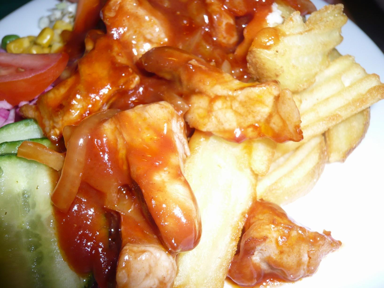 Kuřecí směs s chilli omáčkou