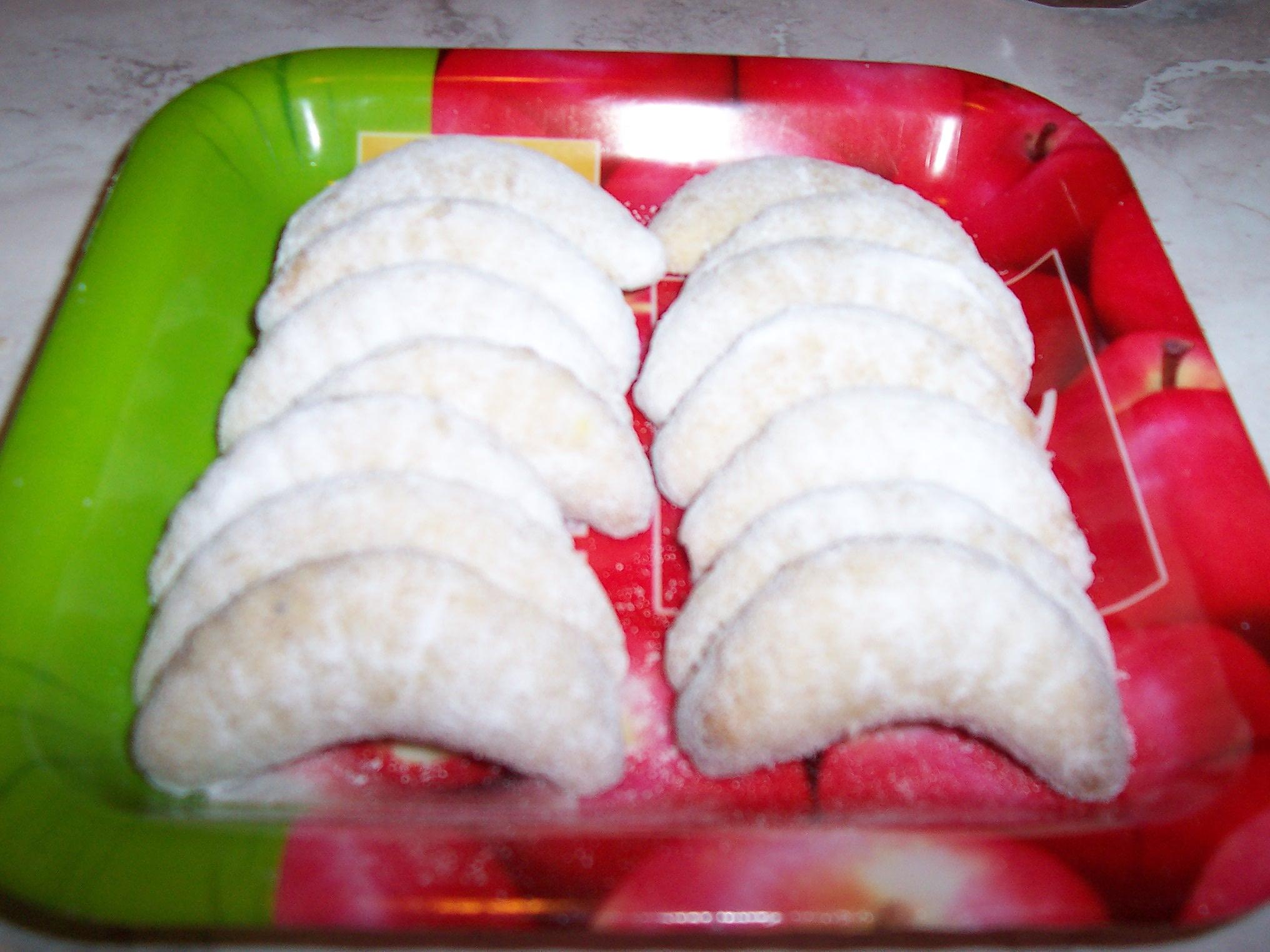 Fotografie receptu: Vanilkové rohlíčky