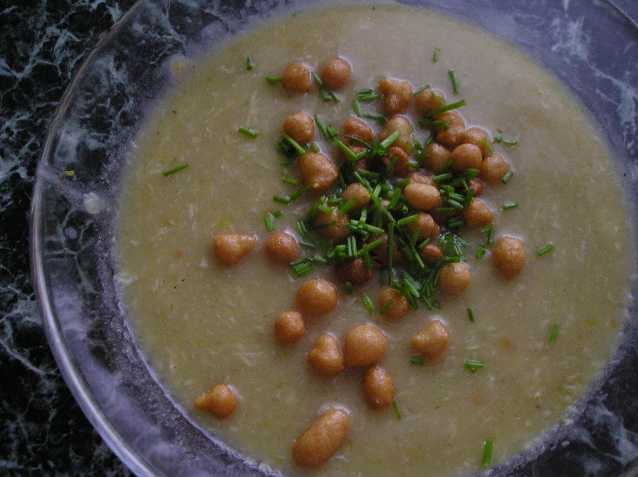Recept Rychlá pórková polévka - Tahle polévka je super, miluje i i moje roční dcera :-)