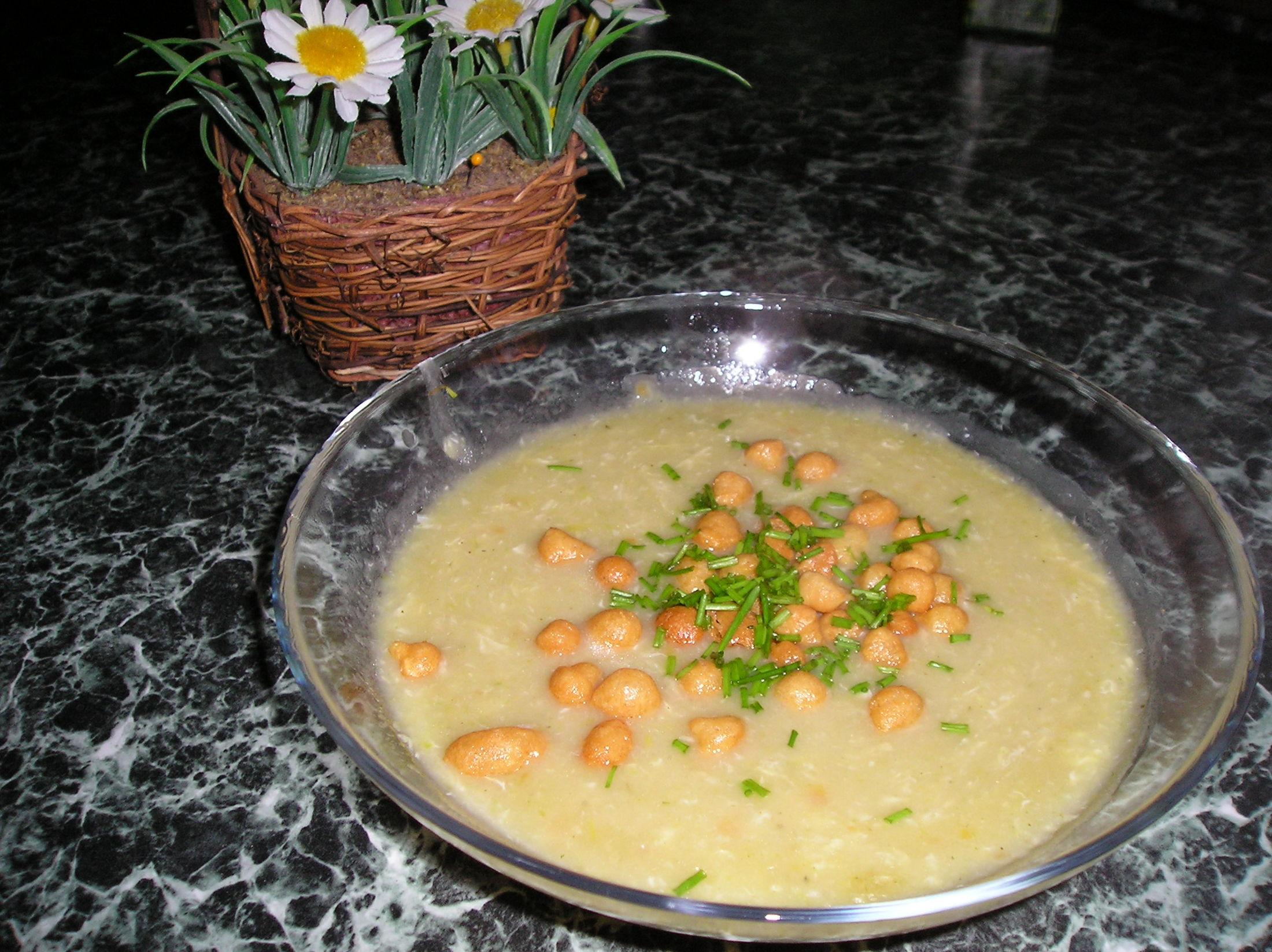Recept Rychlá pórková polévka - Super polévka z pórku.