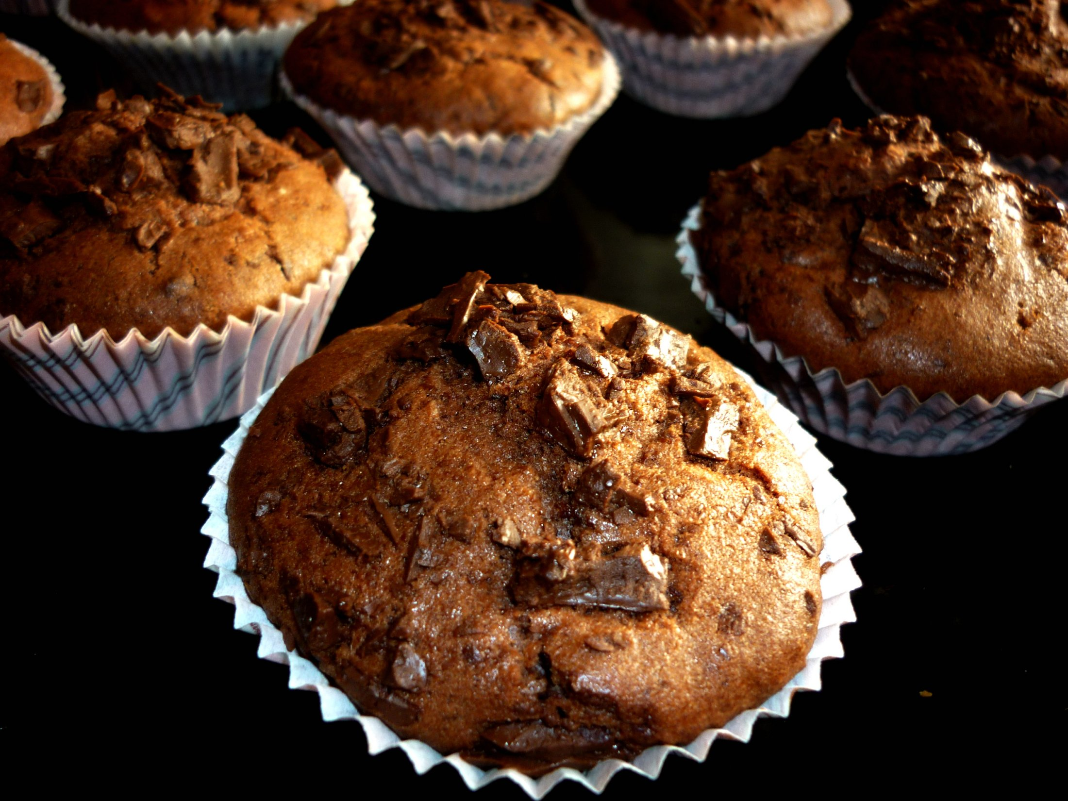 Fotografie receptu: Čokoládové mufiny