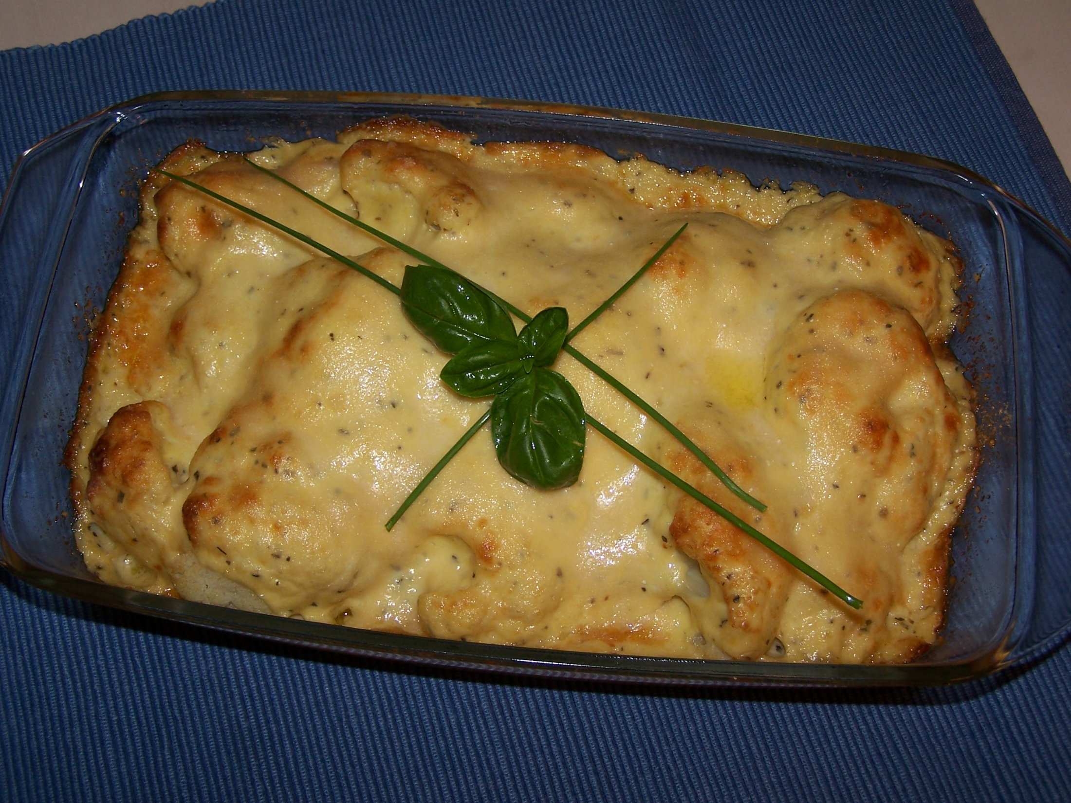 Fotografie receptu: Smetanový zapečený květák