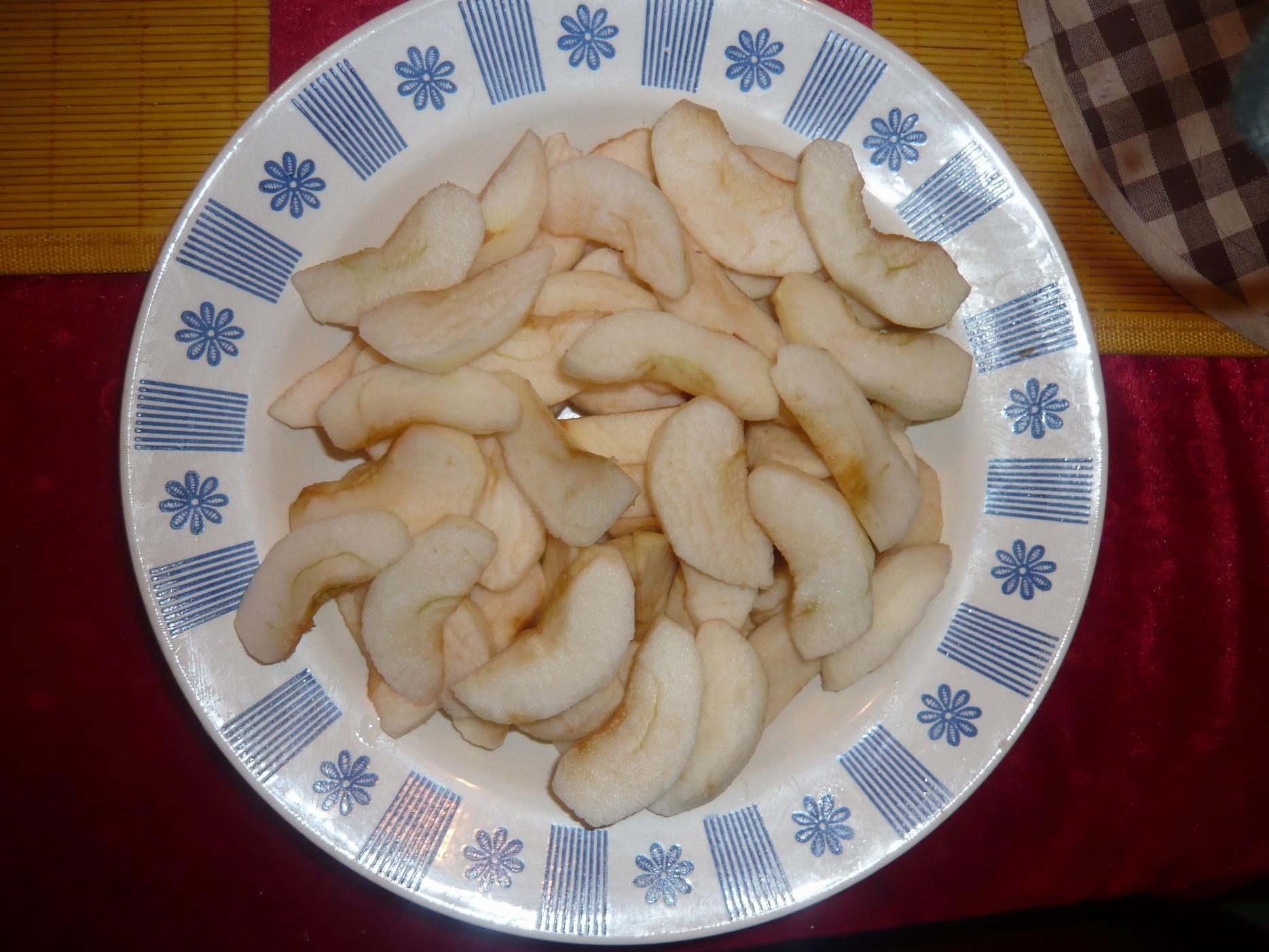 Recept Rychlá jablečná buchta - jablíčka na buchtu