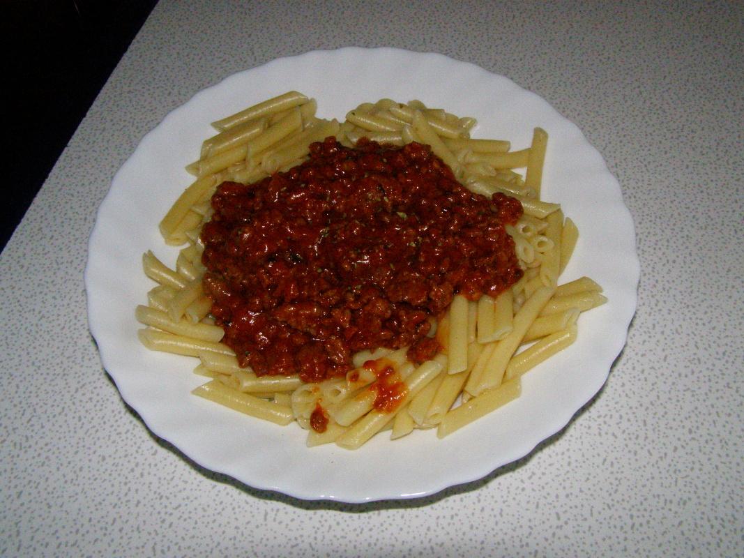 Fotografie receptu: Boloňská omáčka