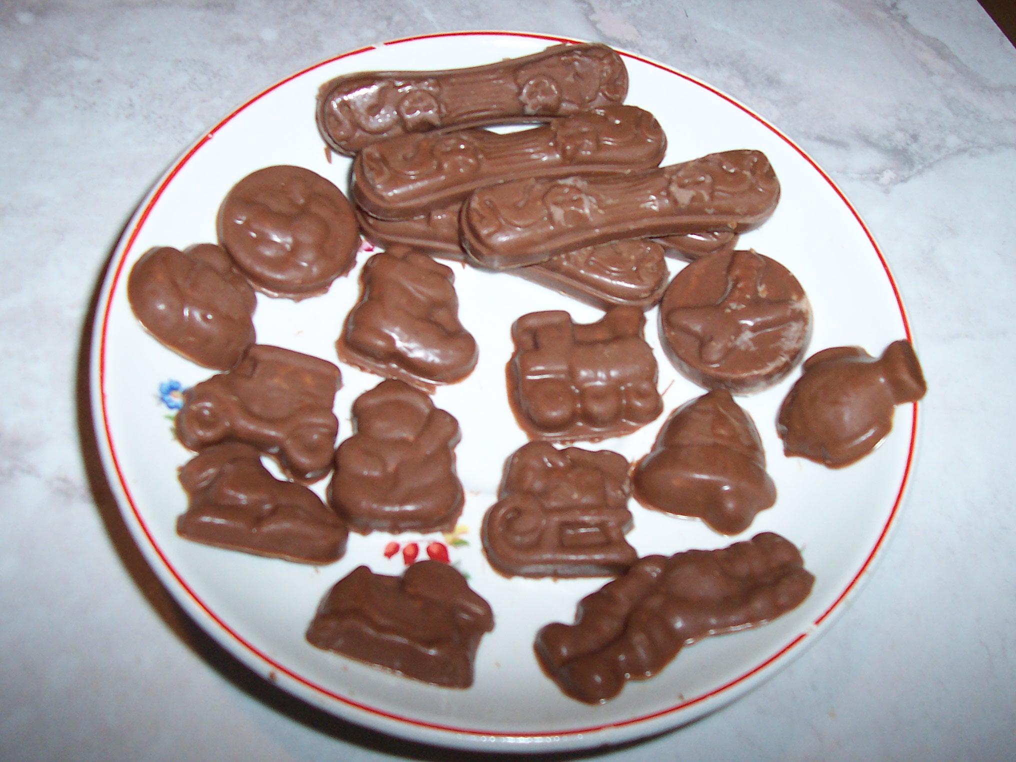 Recept Domácí čokoláda - Čokoláda pro mlsné jazýčky.