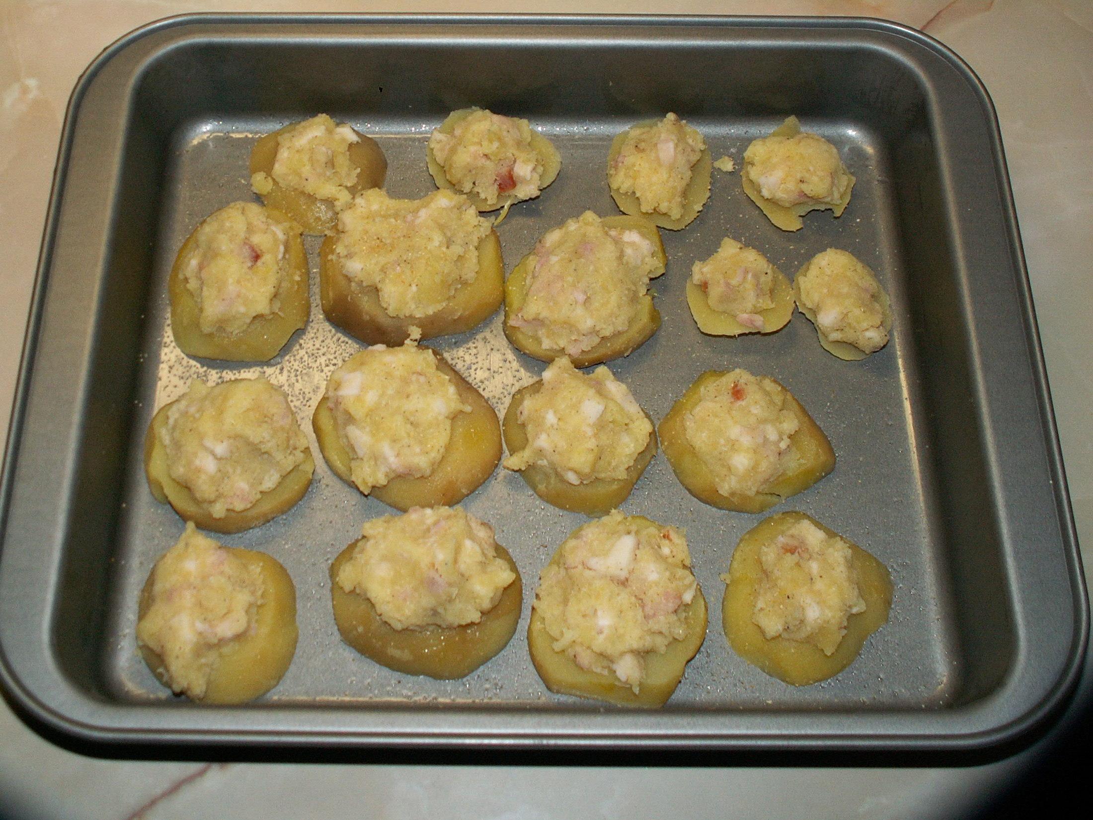 Fotografie receptu: Plněné brambory