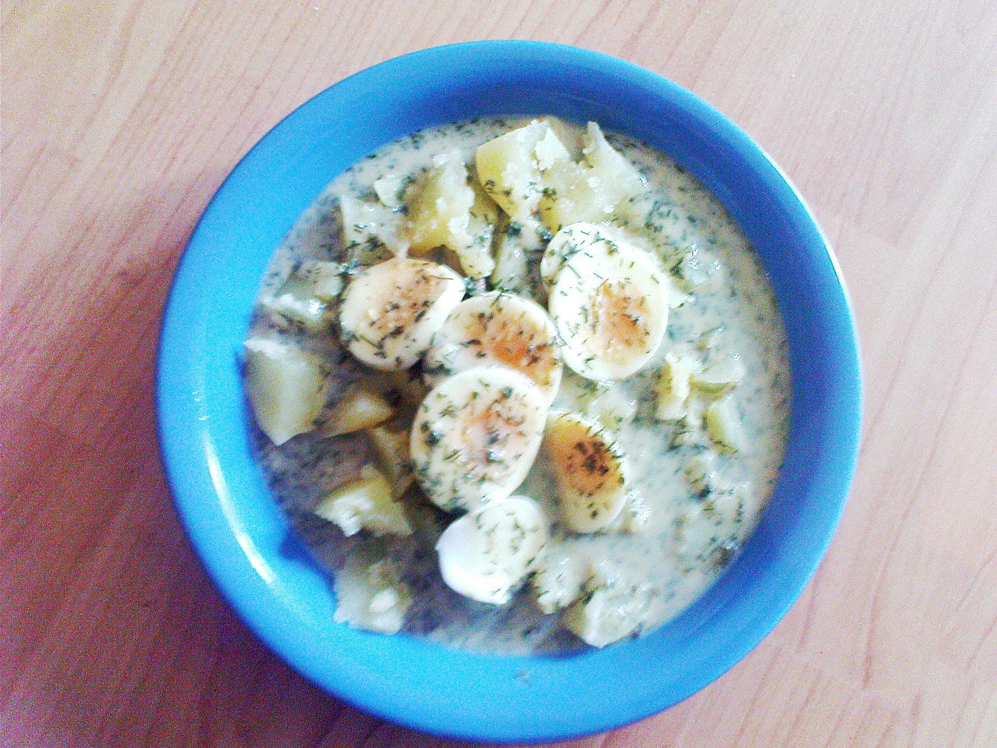 Recept Dědova koprová omáčka - Koprovka s vajíčkem.