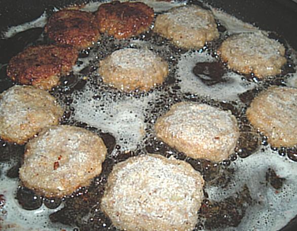 Recept Holandský řízek - smažení řízku