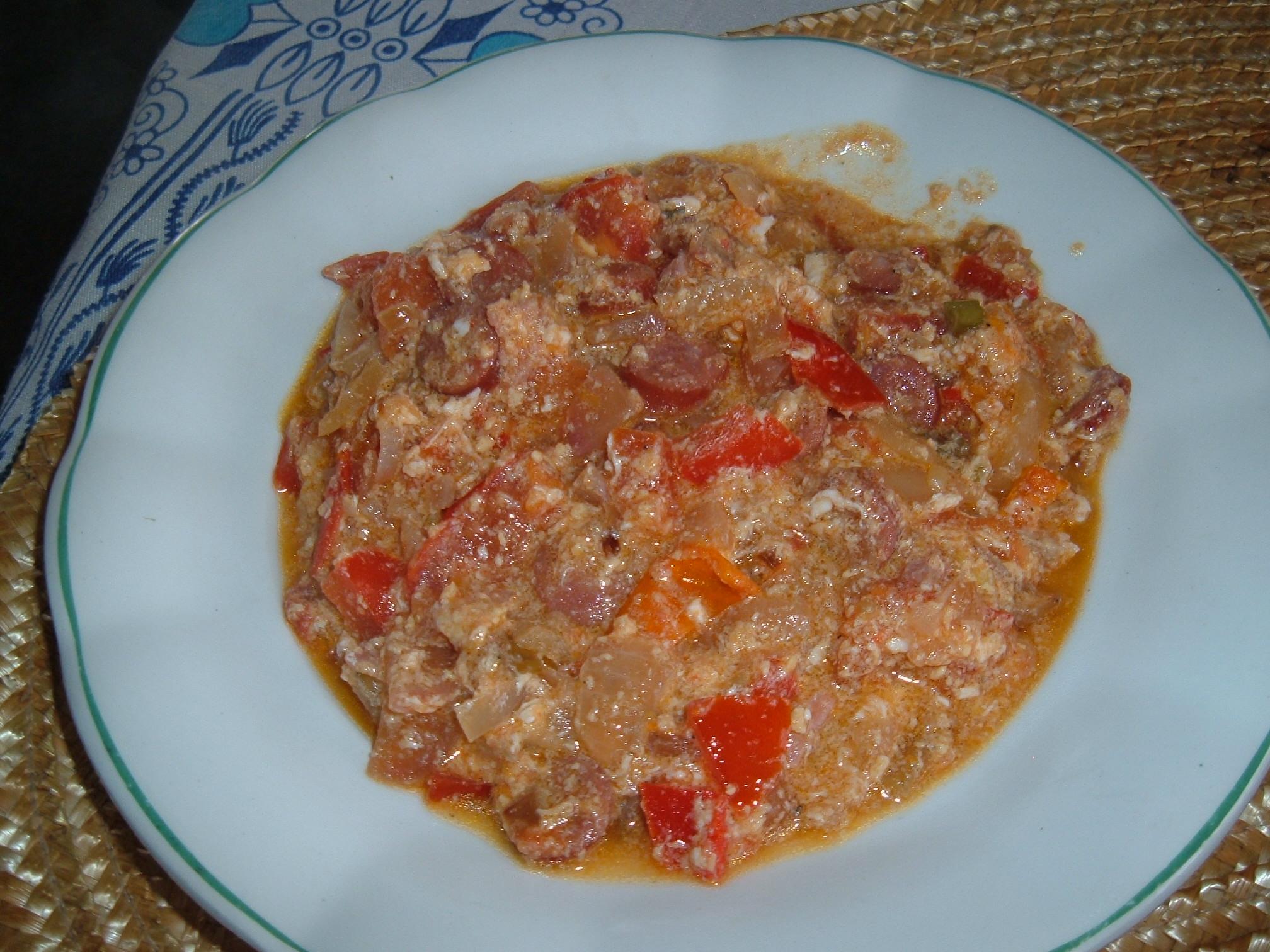 Recept Zeleninové lečo - Hotové zeleninové lečo.