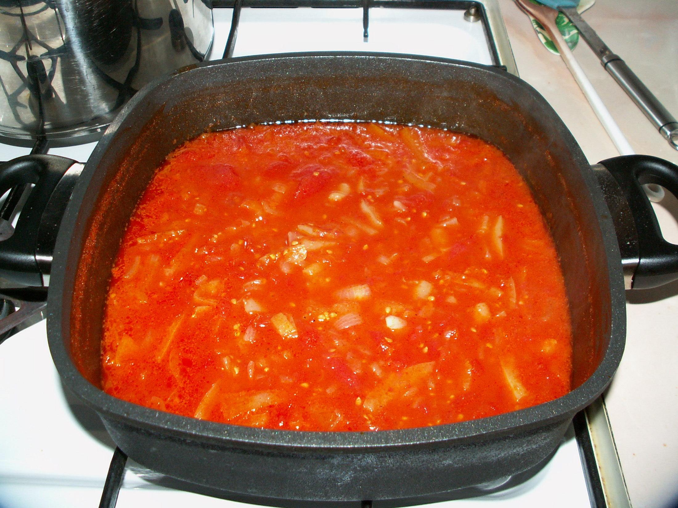 Fotografie receptu: Zeleninové lečo