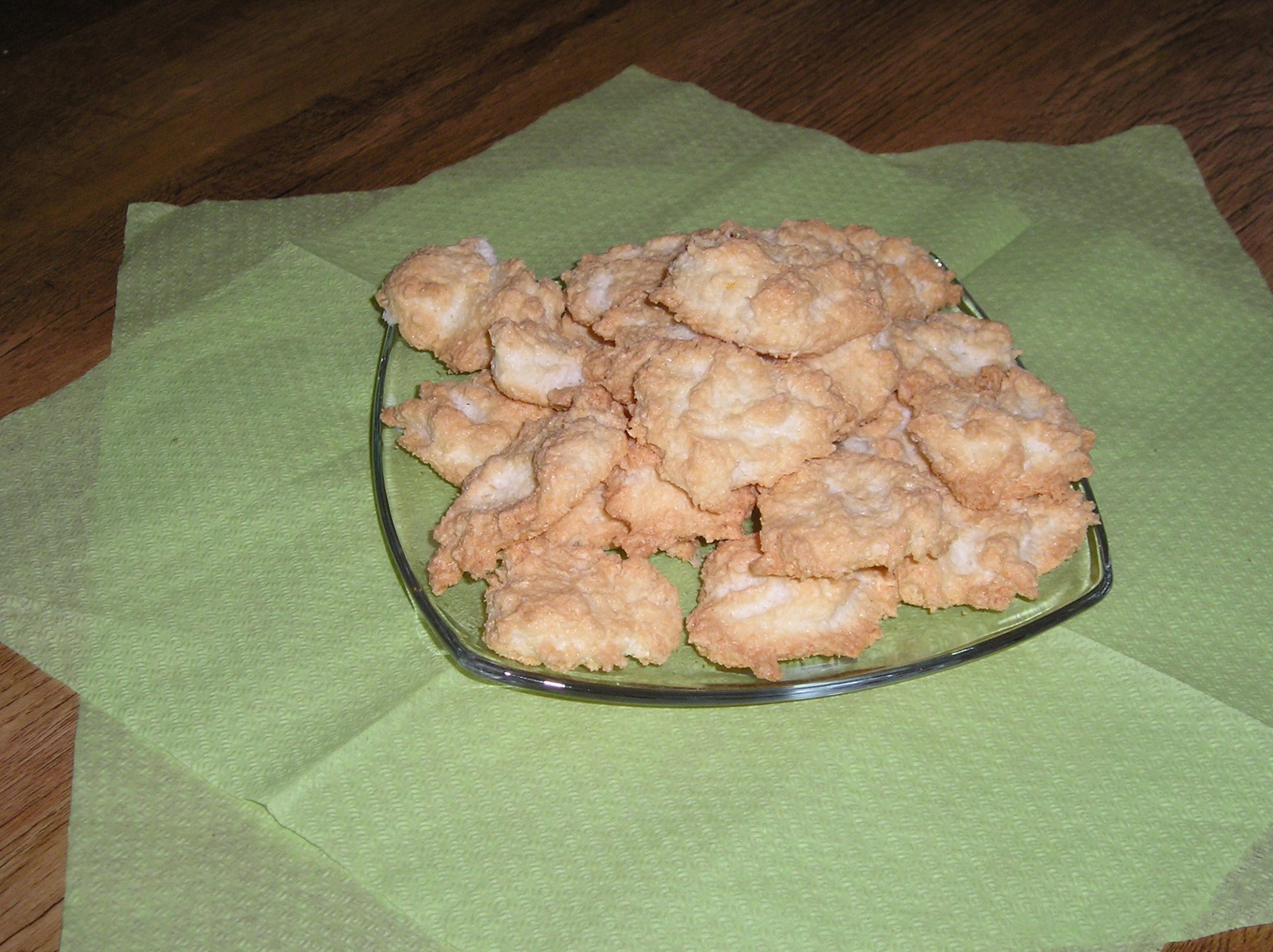 Recept Kokosové pusinky - Výborné kokosové pusinky.