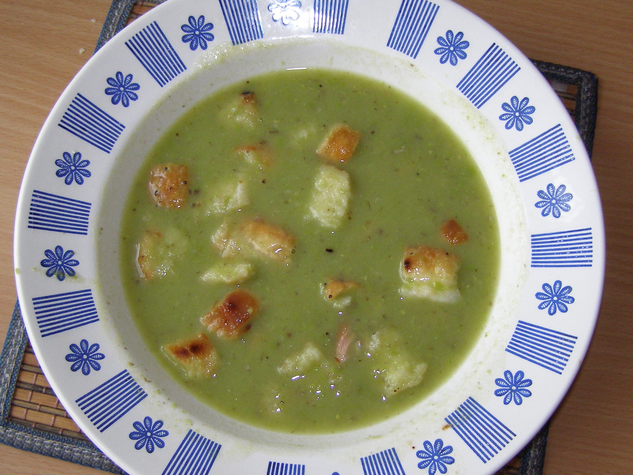 Fotografie receptu: Hrachová polévka
