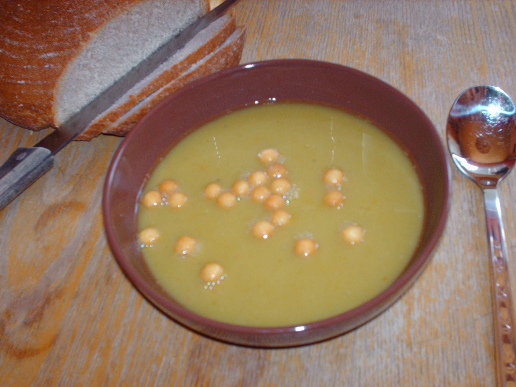 Recept Hrachová polévka - Hrachová polévka.