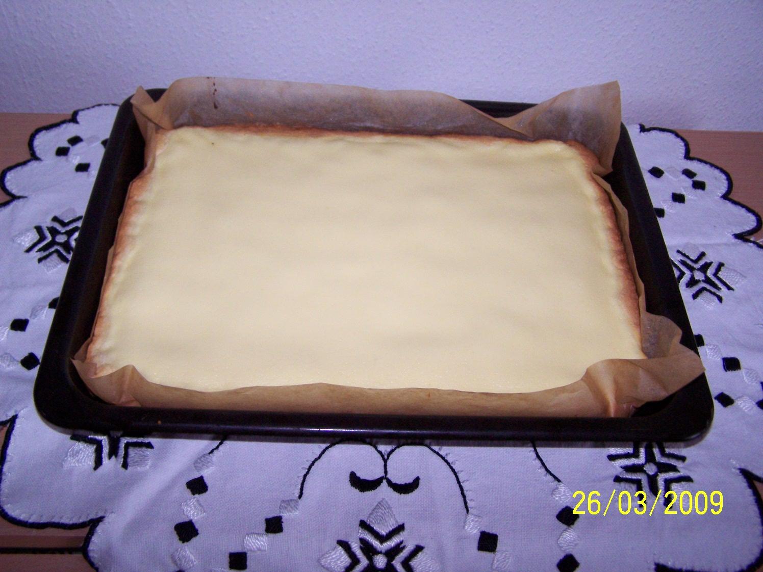 Recept Rychlý tvarohový koláč - Výborný tvarohový koláč.