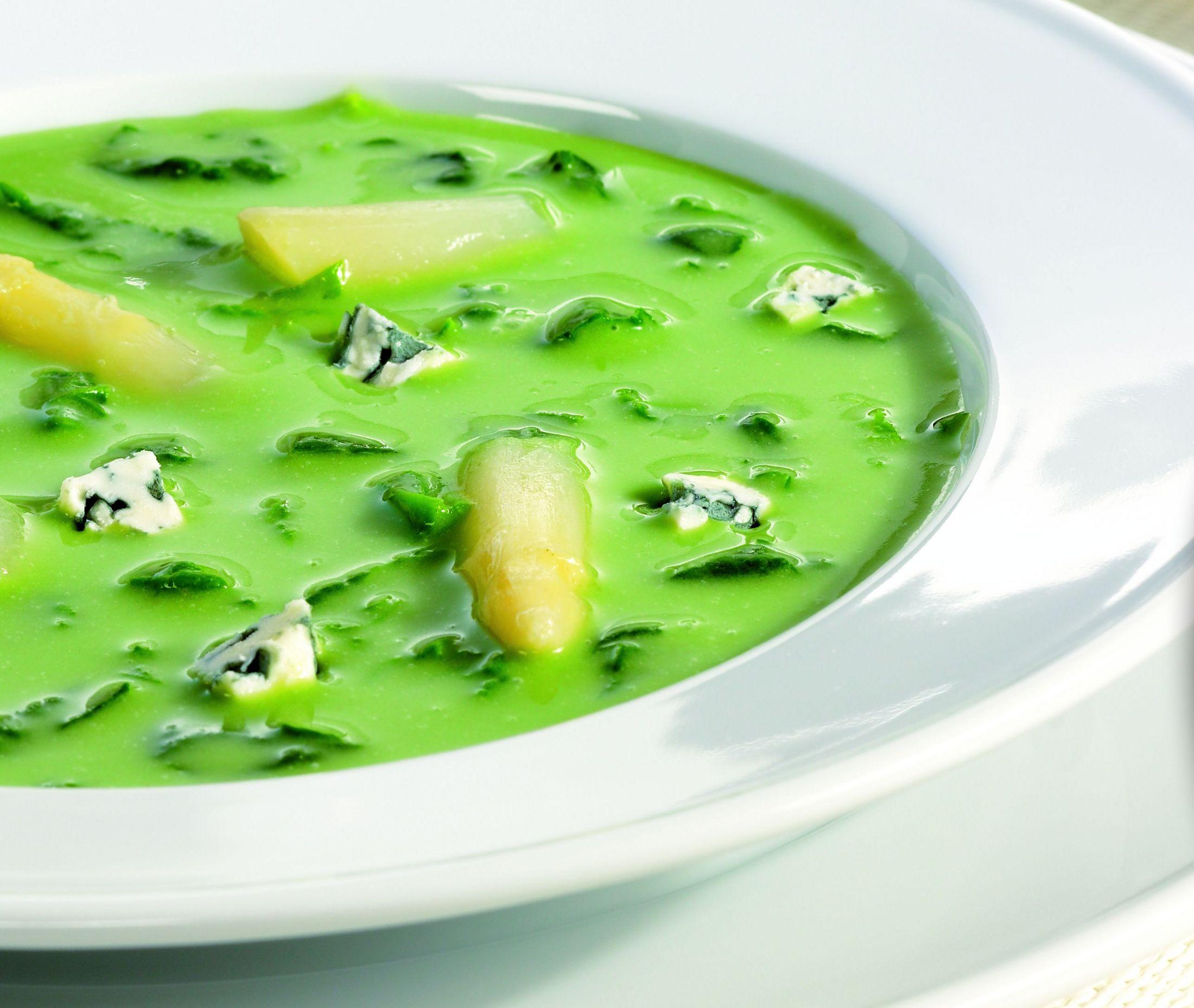 Fotografie receptu: Špenátová polévka se smetanou