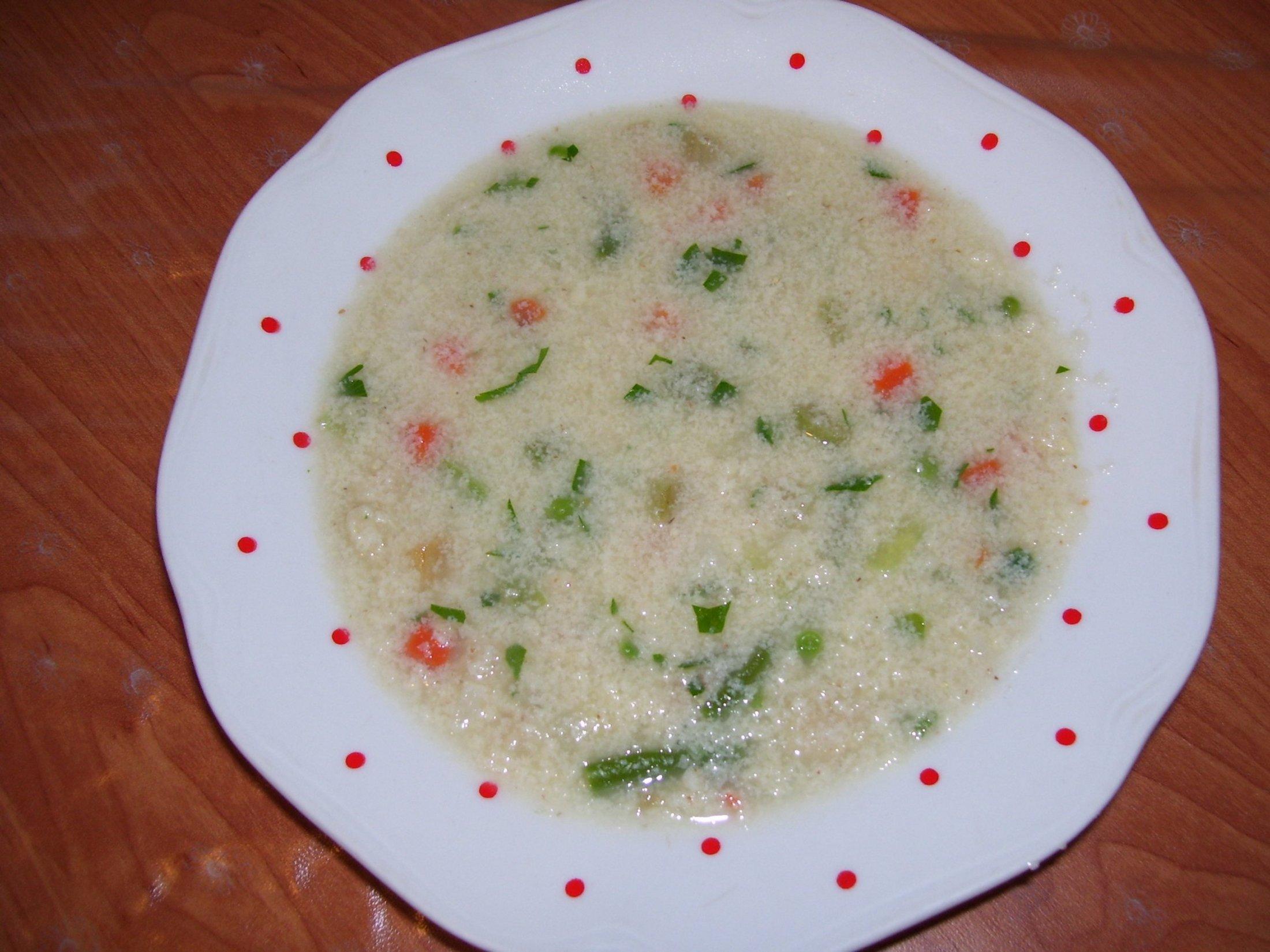 Polévka z vaječné jíšky