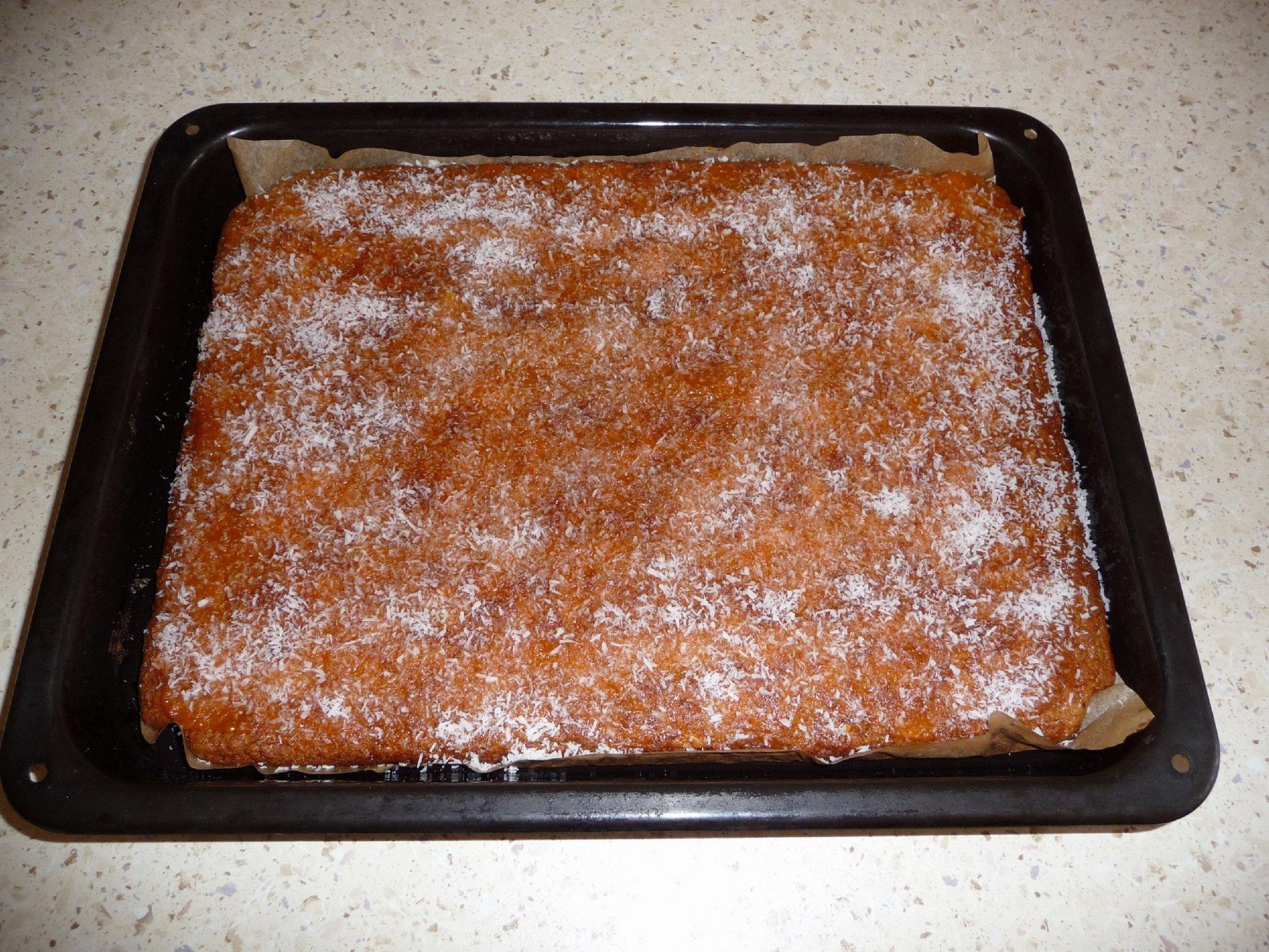 Fotografie receptu: Jednoduchý jablkový koláč