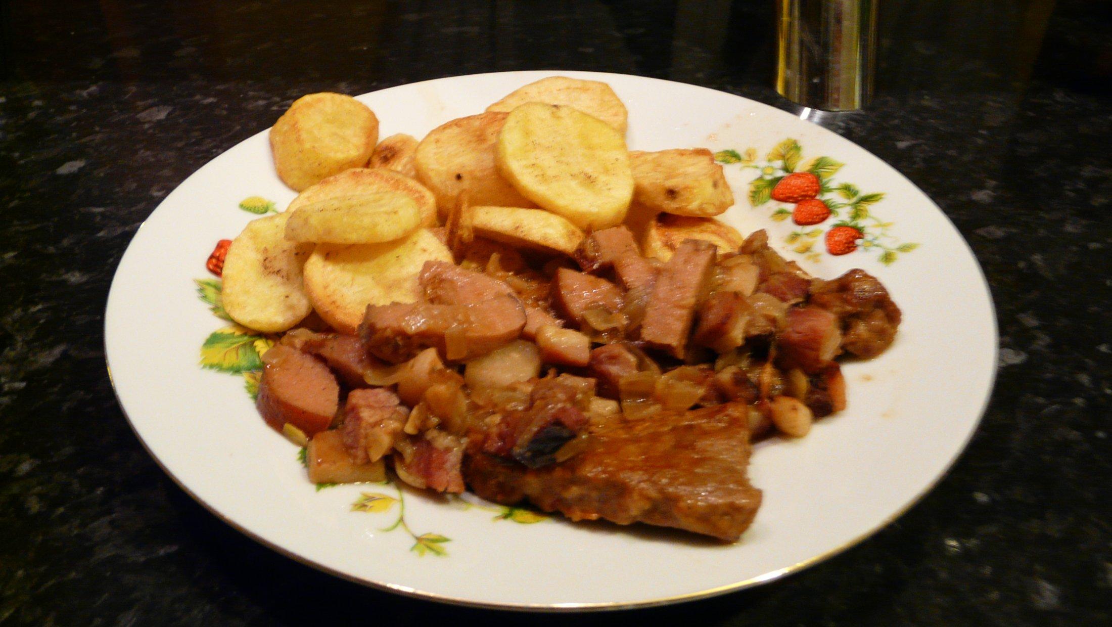 Fotografie receptu: Frankfurtská hovězí pečeně