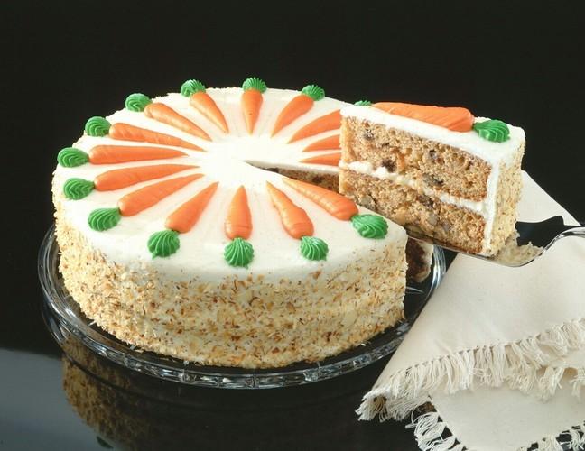 Fotografie receptu: Mrkvový koláč