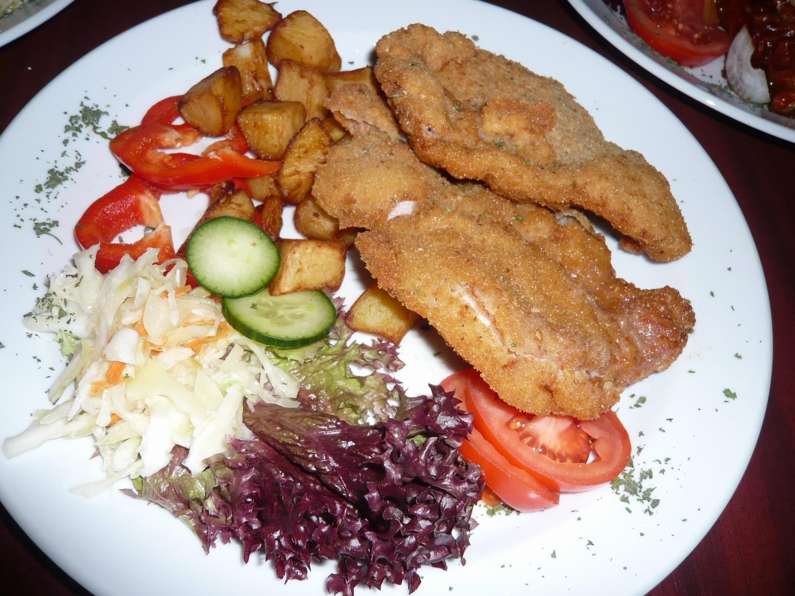 Moravský kuřecí řízek