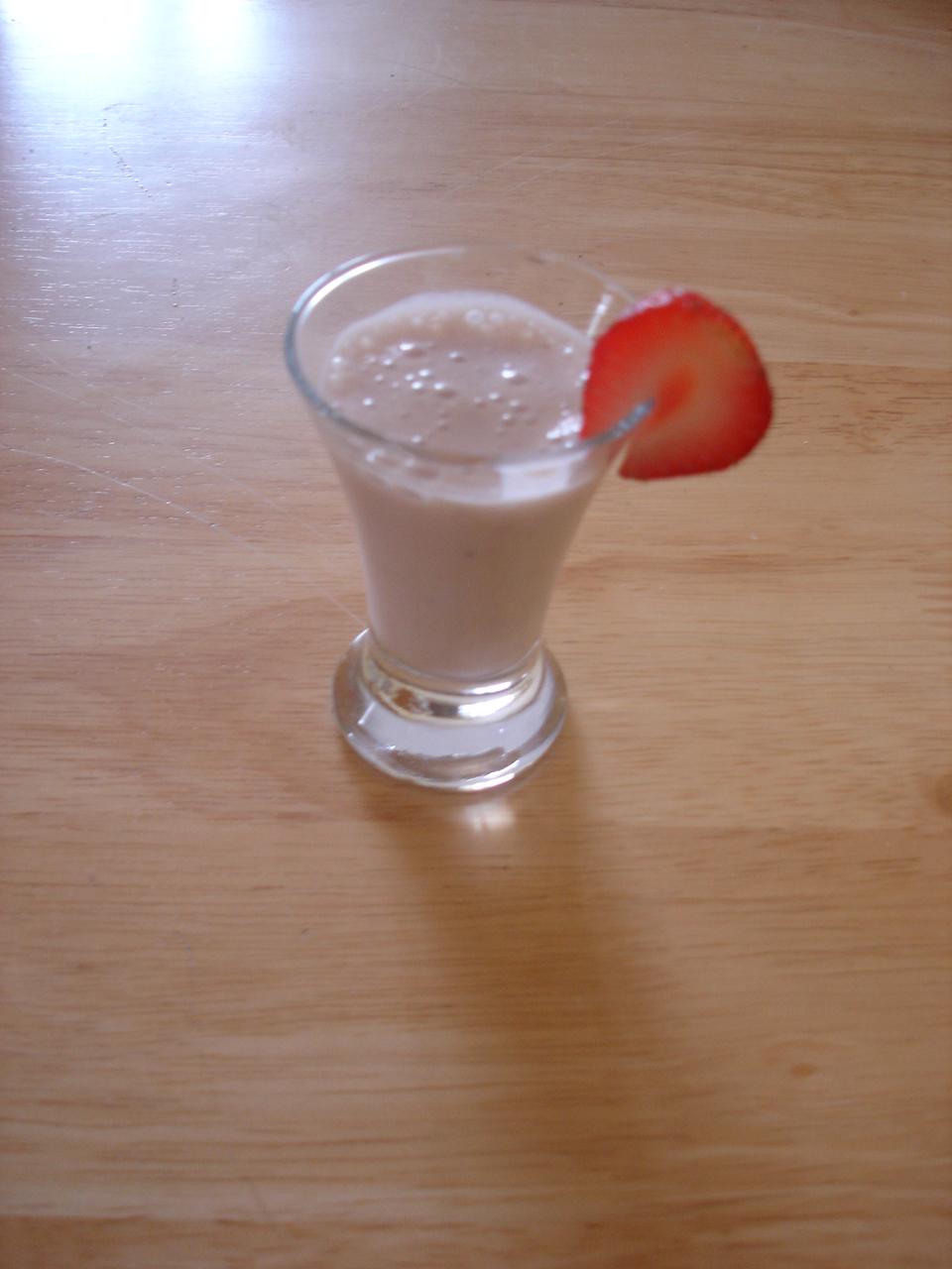 Fotografie receptu: Mléčný koktejl
