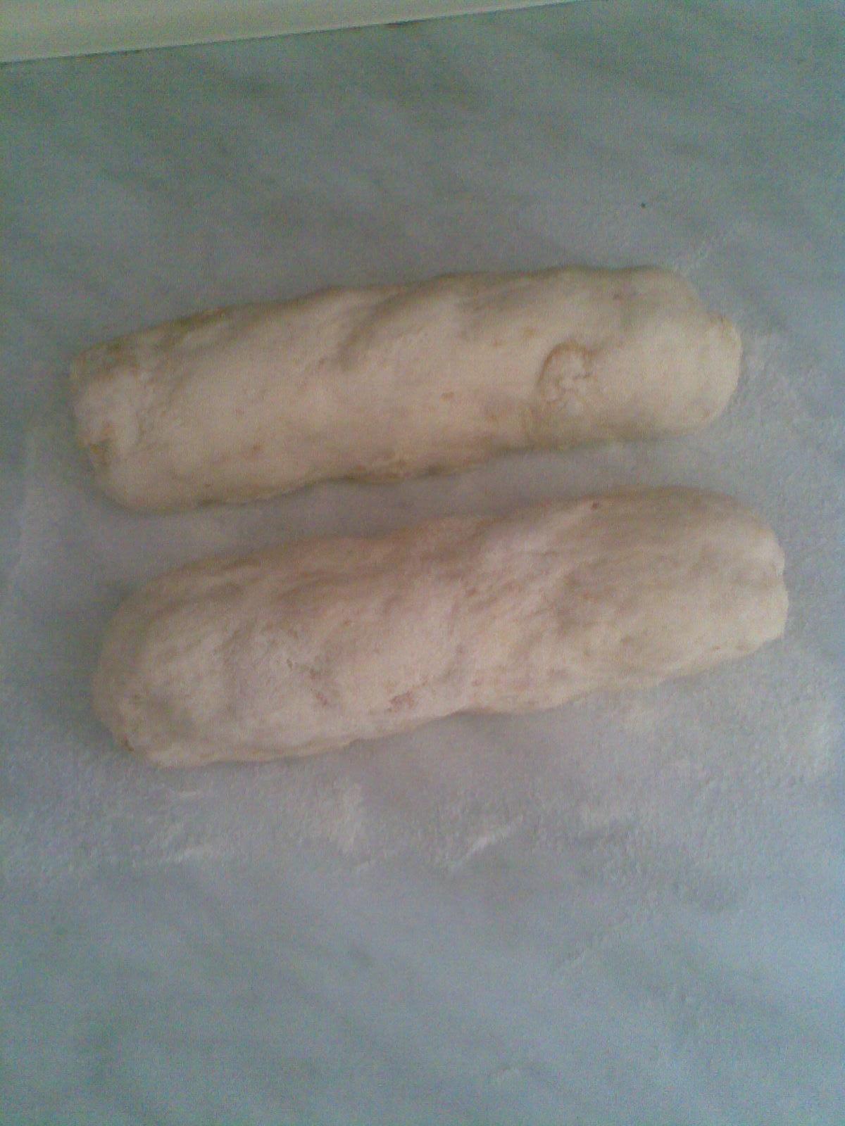 Recept Kynutý houskový knedlík - šišky necháme nakynout