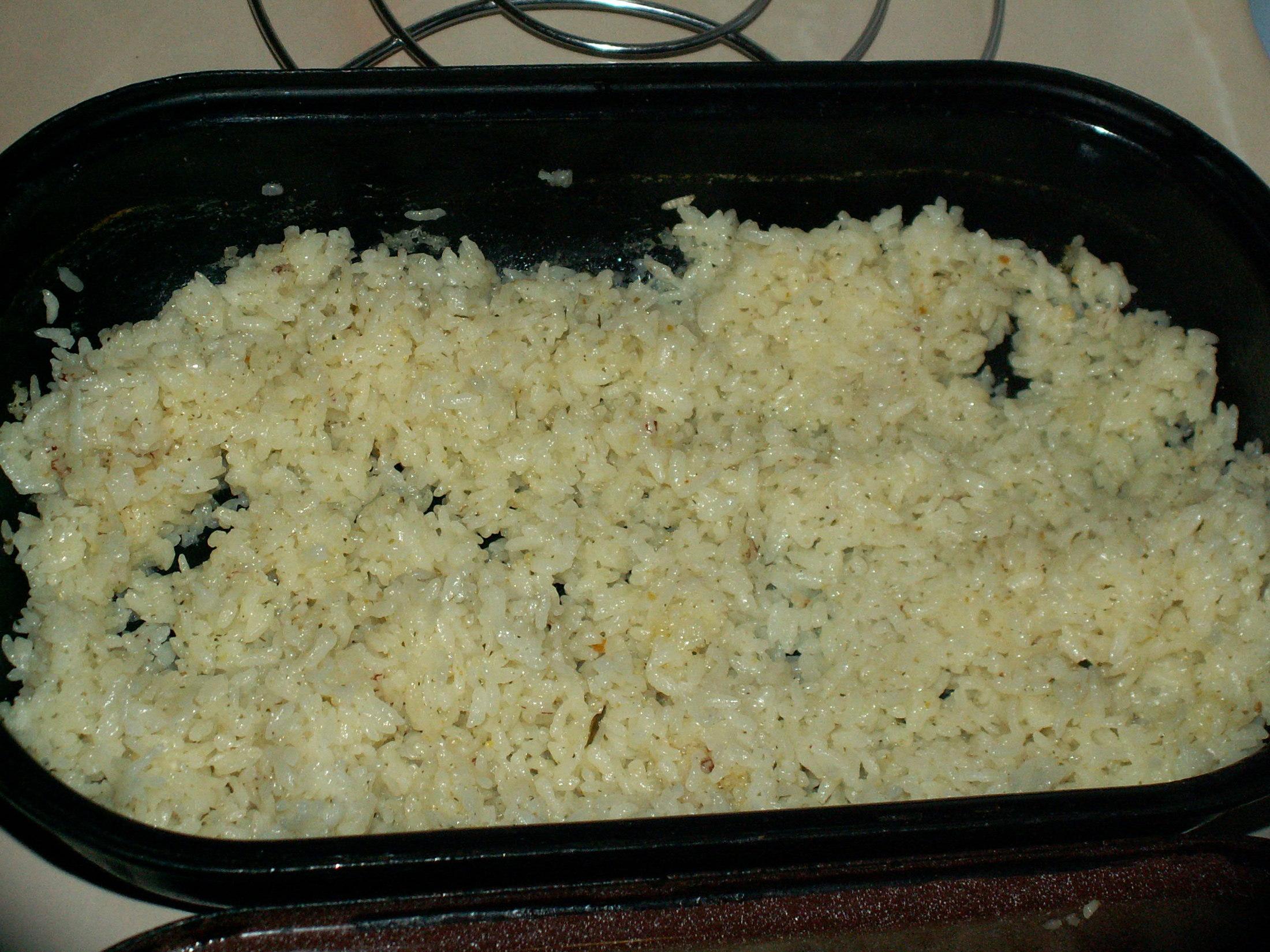 Dušená rýže 1