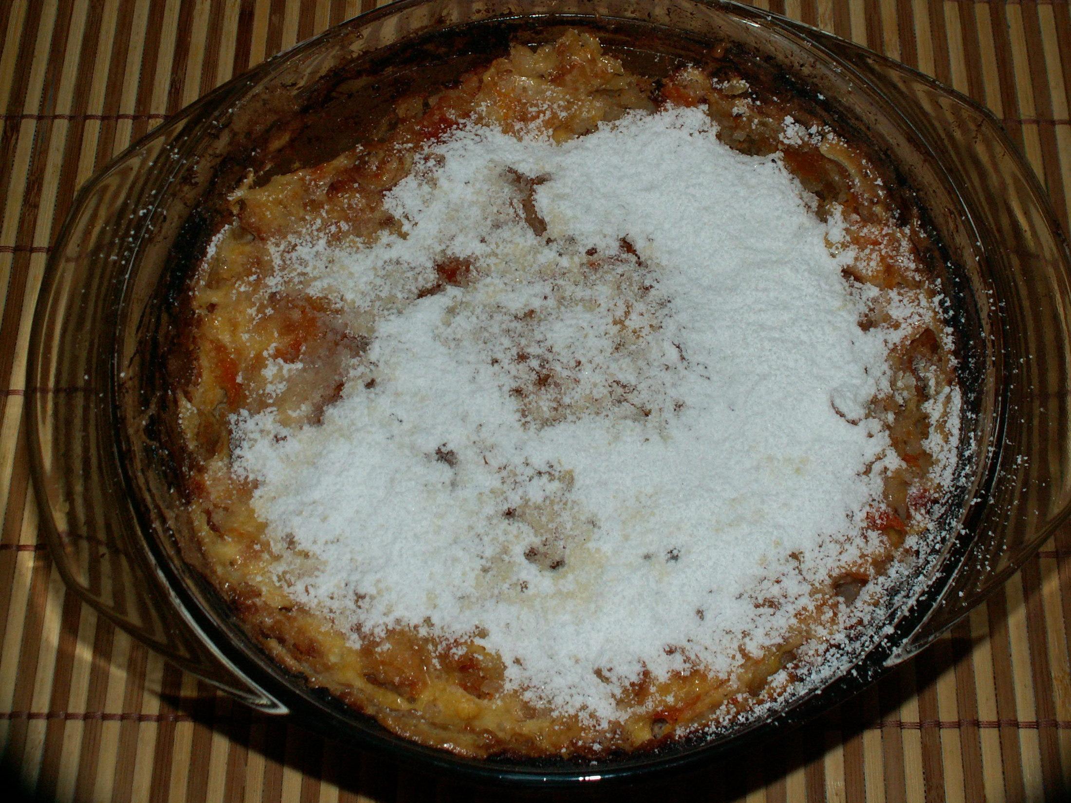 Recept Rýžový nákyp s meruňkami - Rýžový nákyp s meruňkami.