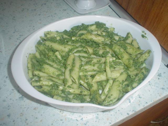 Fotografie receptu: Špenátové těstoviny