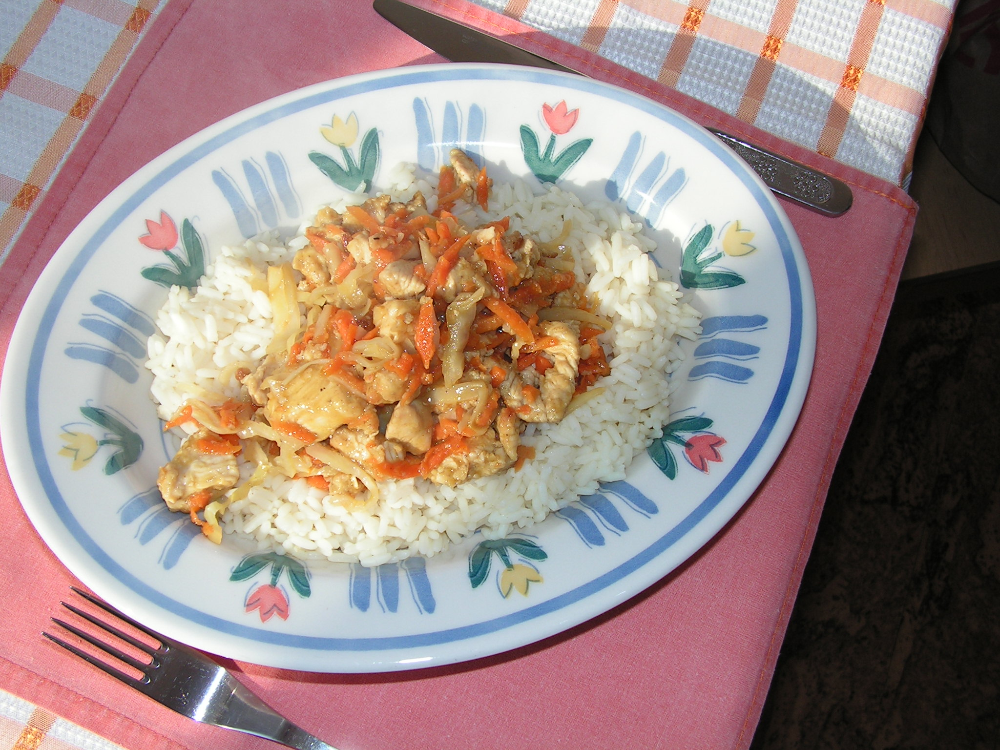 Recept Kuřecí čína se zeleninou - Čína se zeleninou.