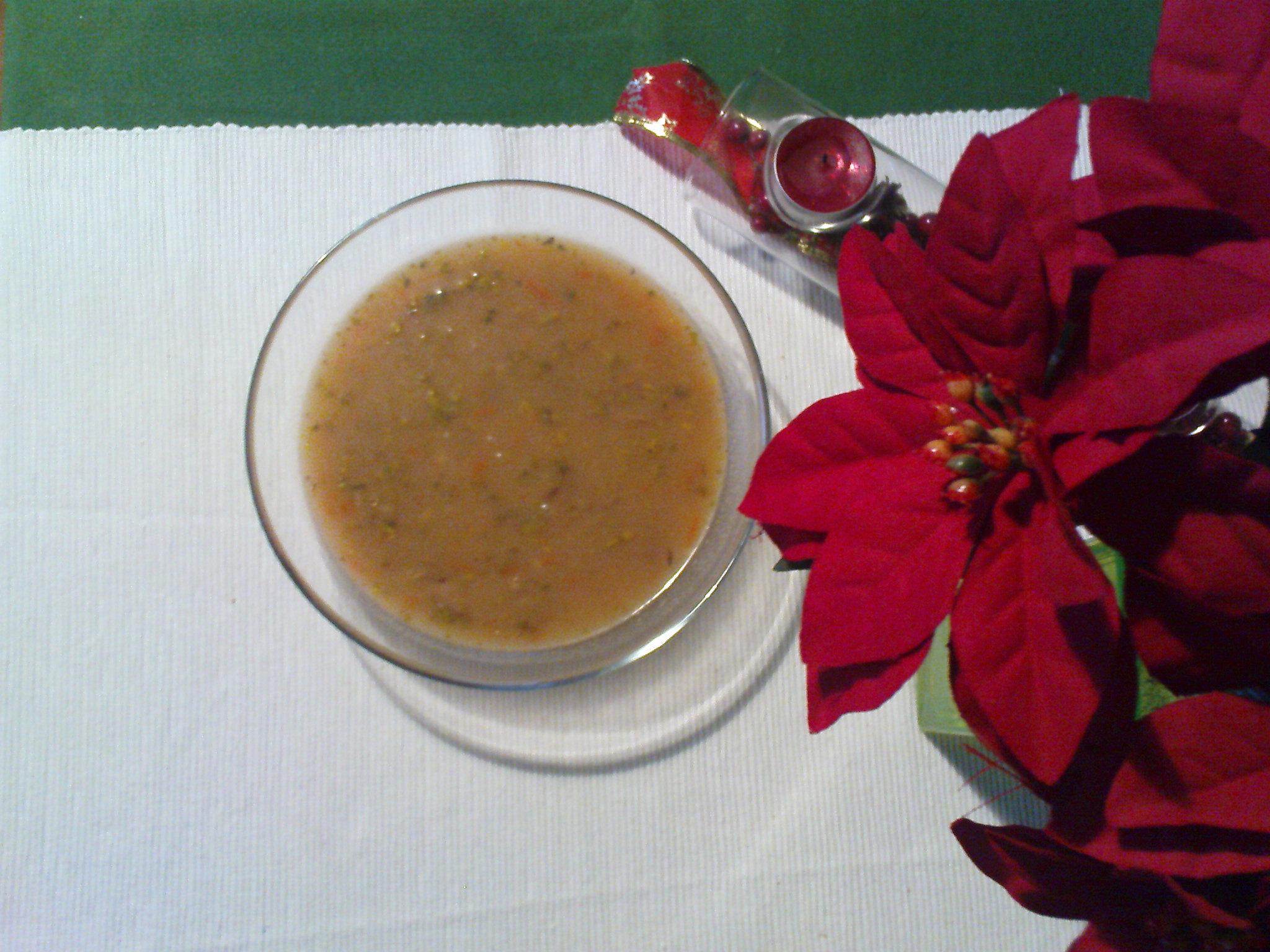 Recept Čočková polévka - Hotová čočková polévka - dobrou chuť.