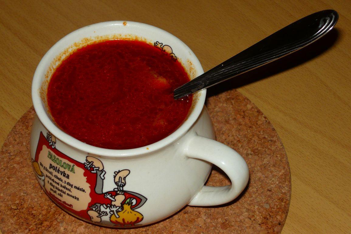 Recept Frankfurtská polévka 2 - Výborná sytá polévka. Podáváme s pečivem.