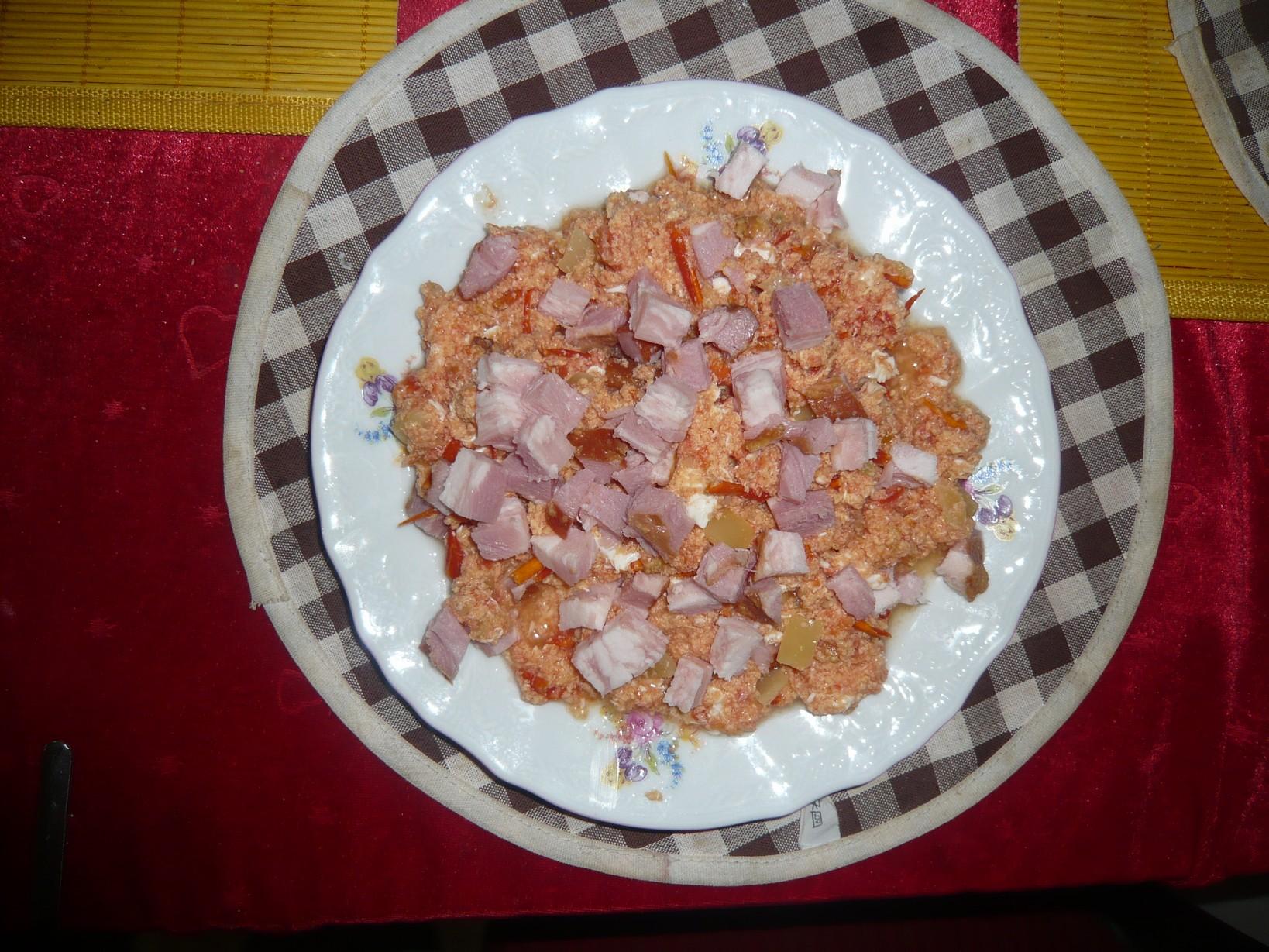 Recept Lečo - lečo s anglickou slaninou