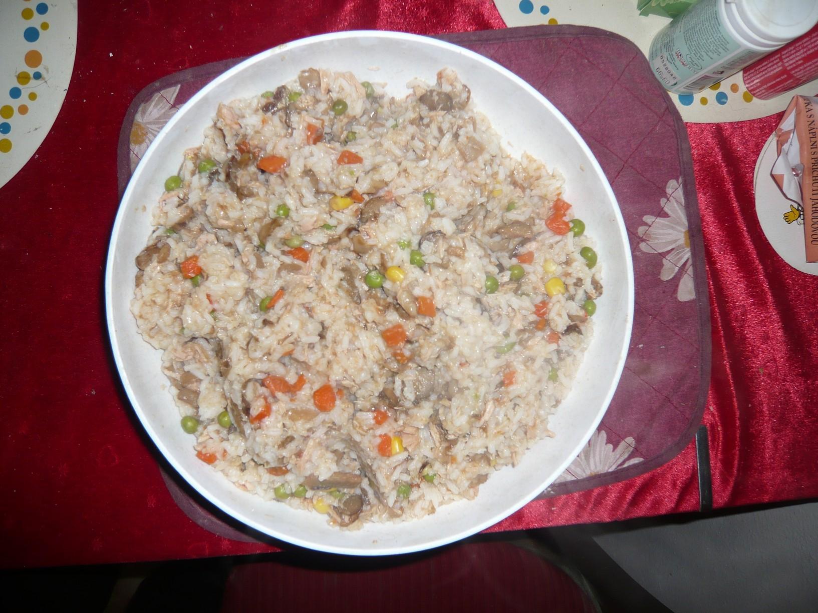 Recept Zeleninové rizoto - Zeleninové rizoto s houbami.