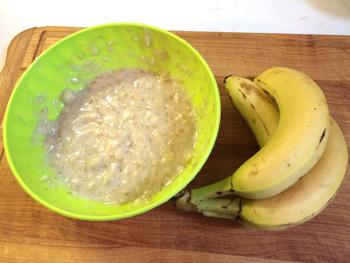 Banánové muffiny s pekanovými ořechy
