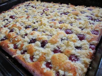 Třešňový koláč