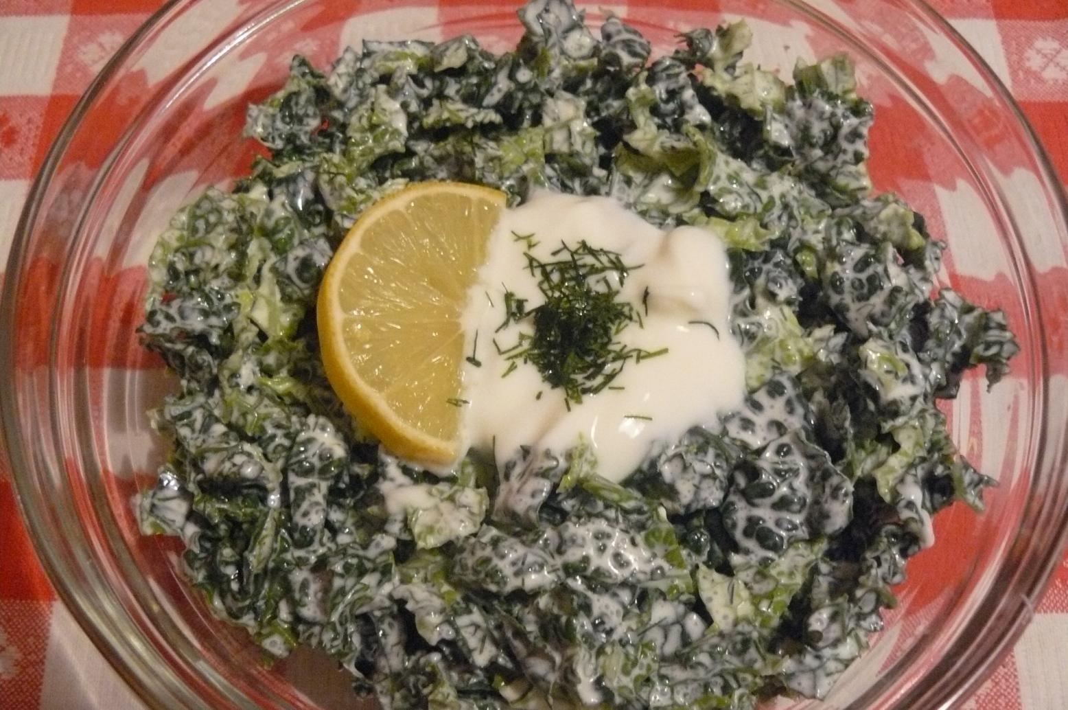 Pikantní kapustový salát