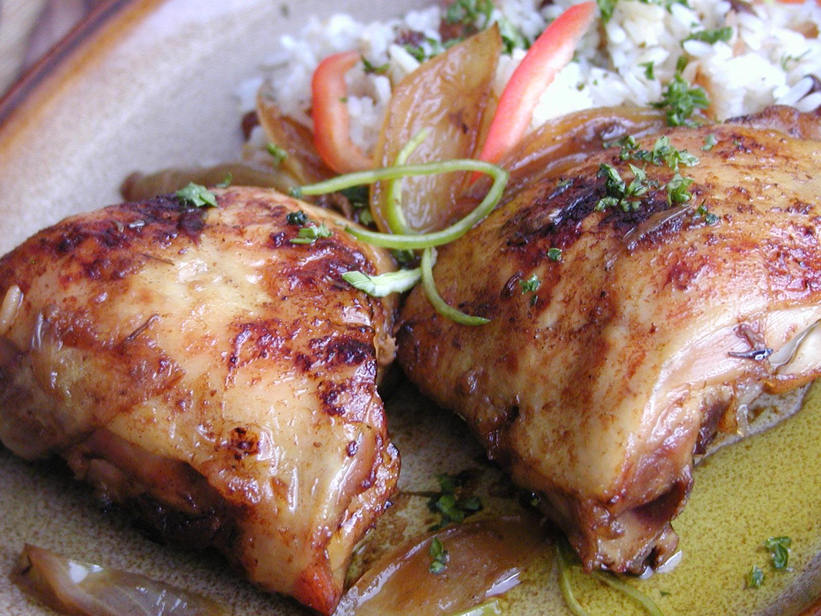 Orientální kuřecí špalíčky