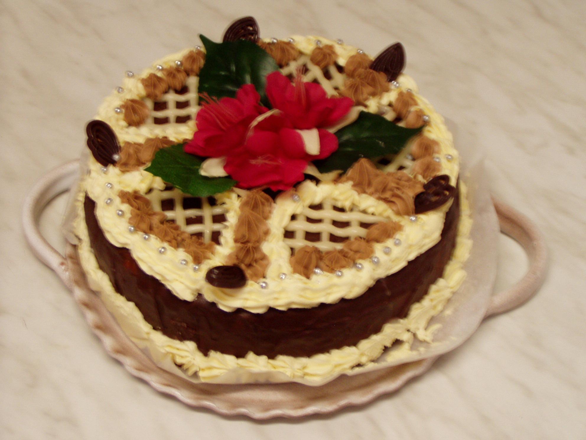 Fotografie receptu: Ořechový dort