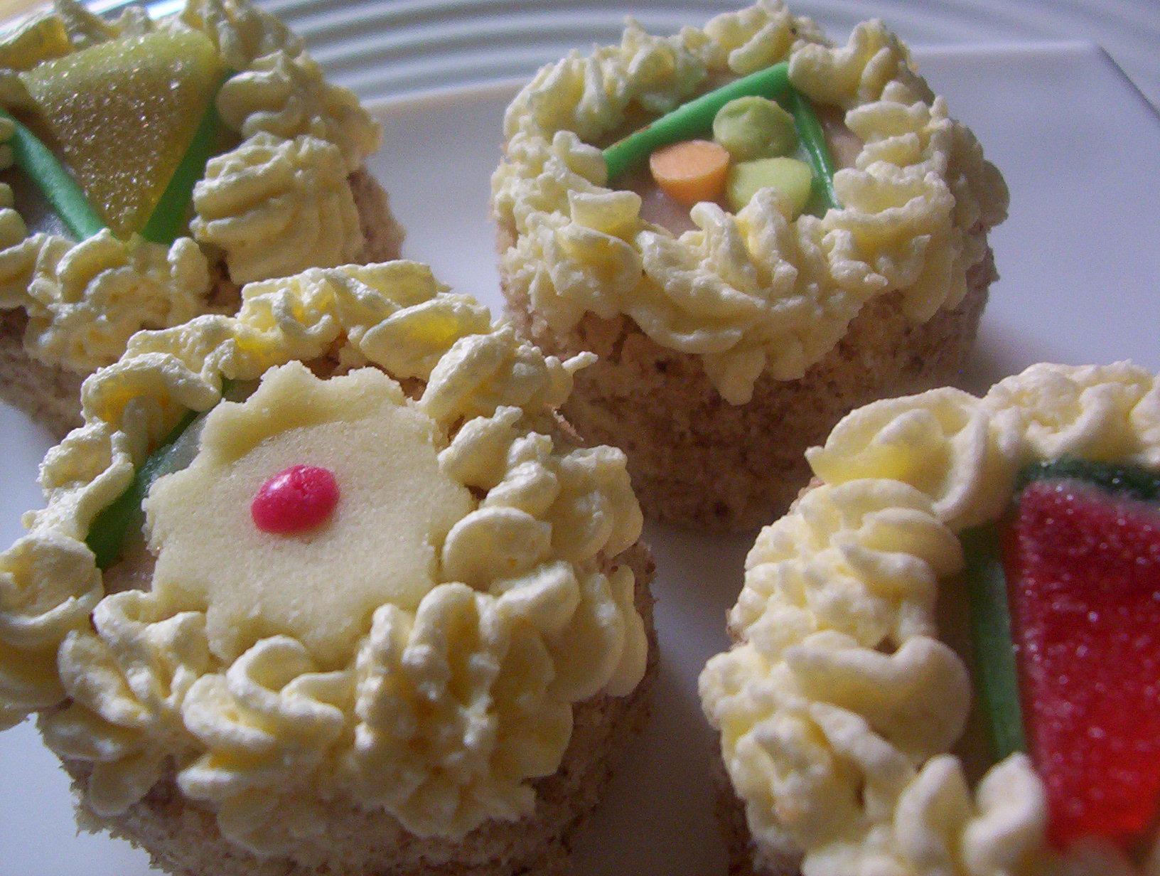 Vánoční dortíky