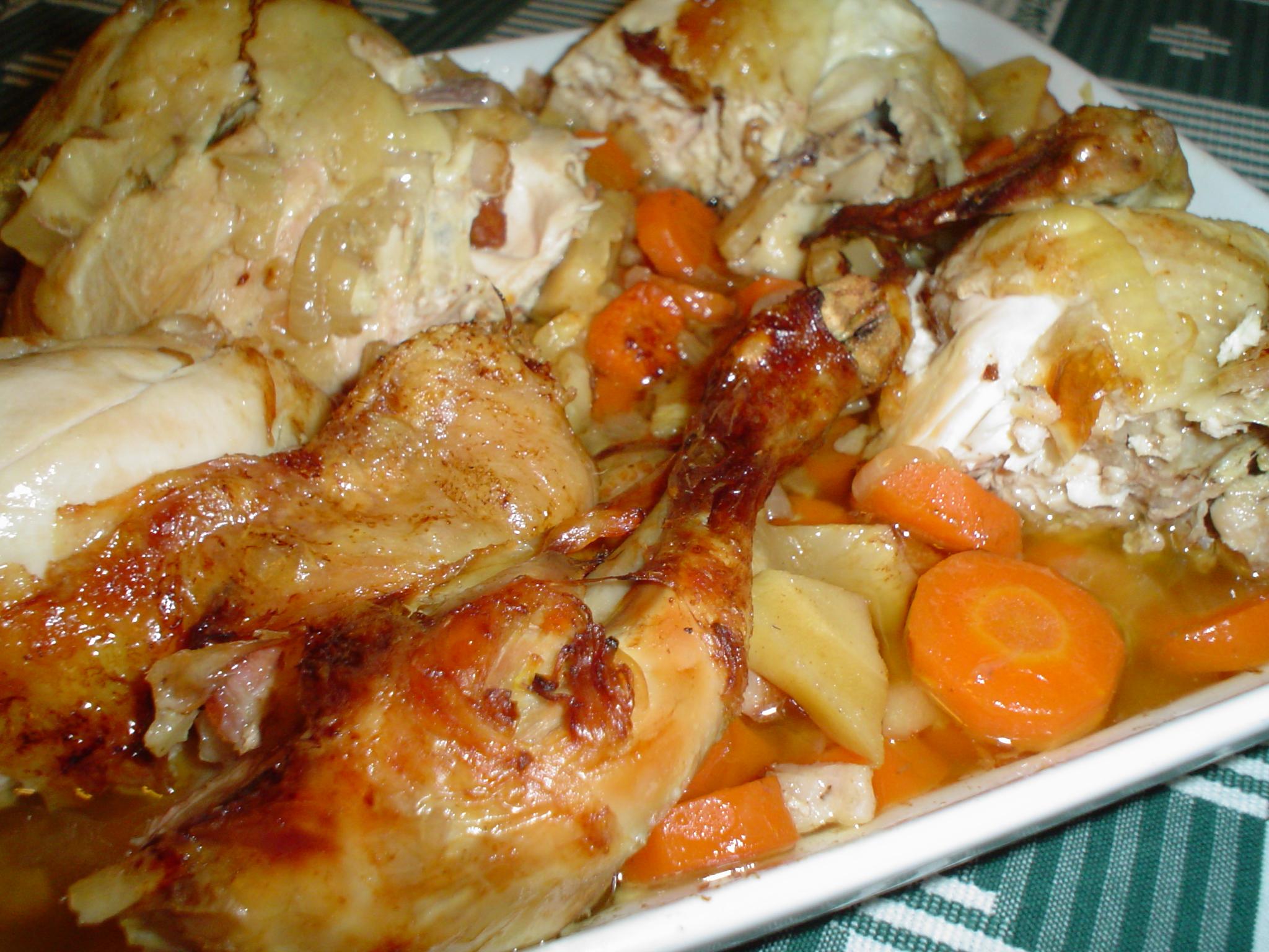 Fotografie receptu: Kuře na divoko