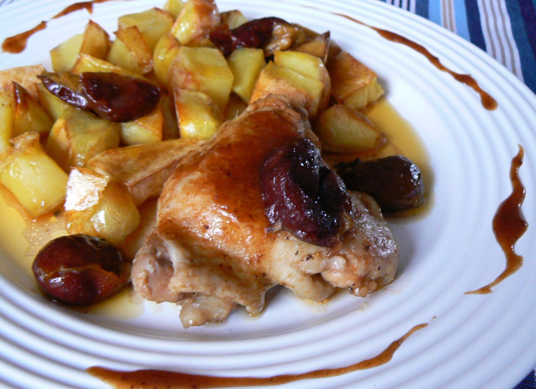 Švestkové kuře