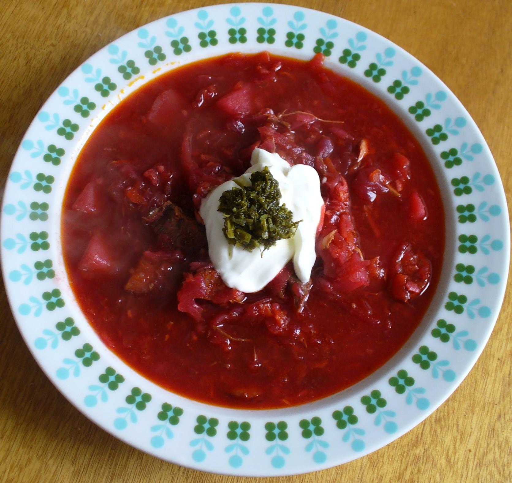 Fotografie receptu: Pravý ruský boršč