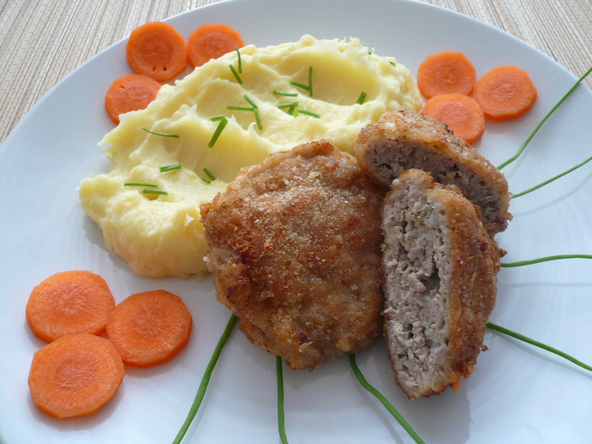Fotografie receptu: Mleté maso se sýrem