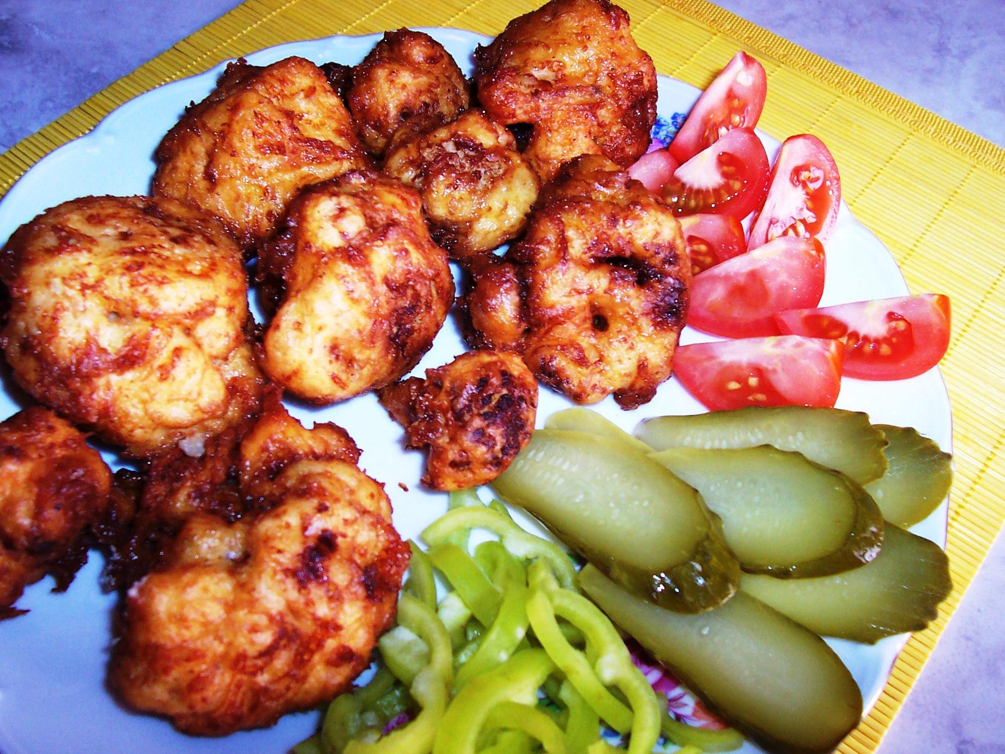 Fotografie receptu: Květák v sýrovém těstíčku